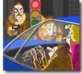 Une victime de car-jacking inattendue