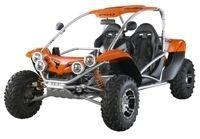 Nouveauté 2009 : PGO Bug Racer 500 cm3 SPR Rear Limited