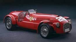 La première Ferrari de compétition mise aux enchères