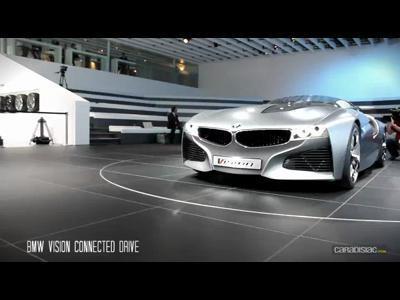 Geneve 2011 : BMW Vision ConnectedDrive en direct : la video