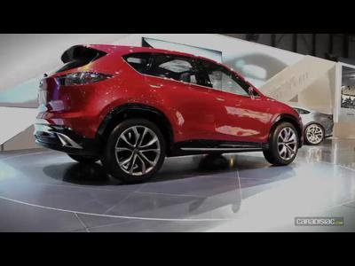 Genève 2011 : Mazda Minagi Concept :la vidéo