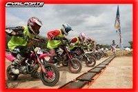 Kaitham réalise un sans faute lors des championnats de France de Pit bike'08...