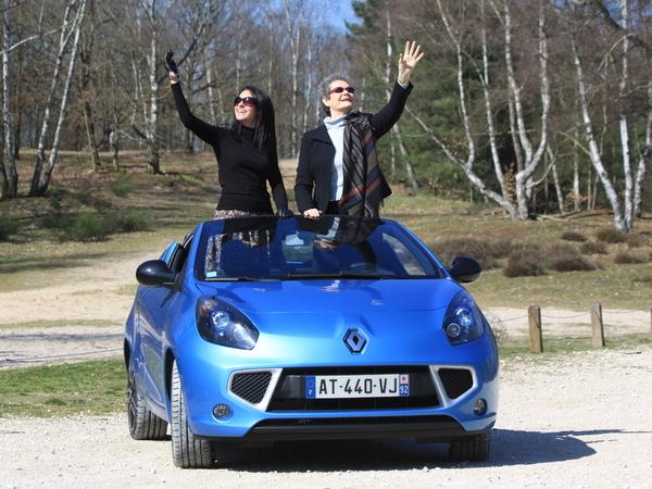 Vidéo - Nos drôles de dames testent la Renault Wind