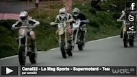 Supermotard: le team Luc1 passe à la TV