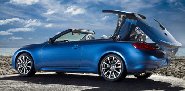 Infiniti G37 Cabriolet : à partir de 52 600 euros