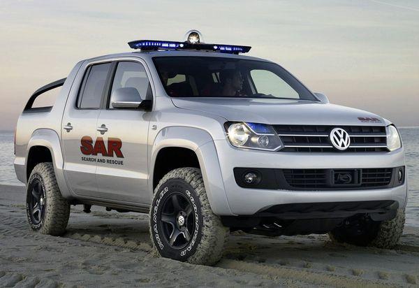 Futur pick-up Volkswagen: il s'appellera Amarok