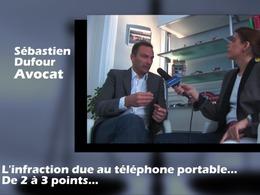 Nouvelle réglementation - Téléphone au volant : 3 points au lieu de 2. La réaction de Maître Dufour