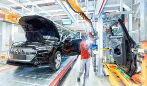 Audi e-tron : production au ralenti, toujours pour cause de problèmes de batteries