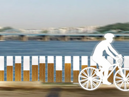 Deux designers coréens inventent le pont pour vélos musical