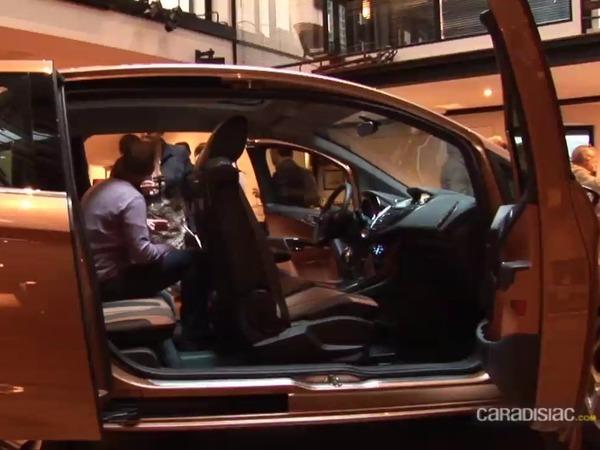 Présentation vidéo - Retour sur les portes sans pied milieu du futur Ford B-Max