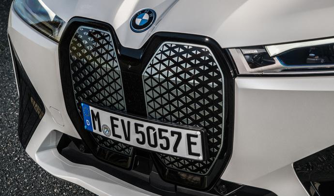 BMW invente la calandre qui se répare toute seule