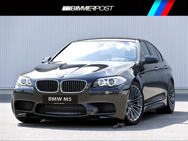 Prochaine BMW M5 : comme ça ?