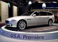 Maserati Quattroporte break ??? (sondage)