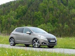La Peugeot 208 en tête des ventes en France au mois d'octobre