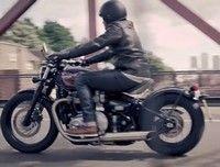 Vidéo moto : le trailer Triumph Bonneville Bobber