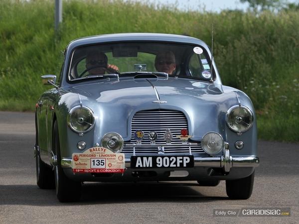 Photos du jour : Aston Martin DB2 (Le Mans Classic)