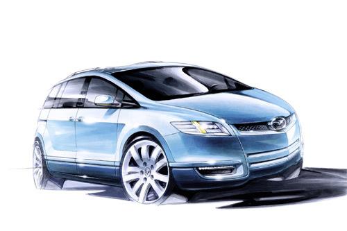 Voici à quoi ressemblera le futur monospace Mazda MX-Flexa