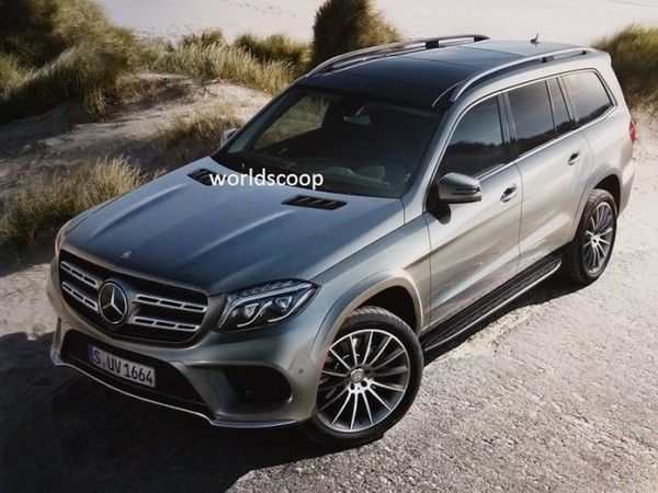 Scoop : le Mercedes GLS tombe sur la toile