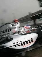 GP d'Allemagne Hockenheim: McLaren Mercedes, sur une jambe