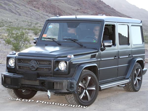 Surprise : un Mercedes Classe G 63 AMG ou G65, ou peut-être G55 ?
