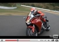 Présentation en vidéo de la VFR 1200F sur le circuit de Sugo