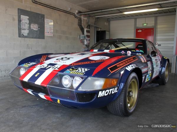 Photos du jour : Ferrari 365 GTB/4 Groupe 4 (Sport & Collection)