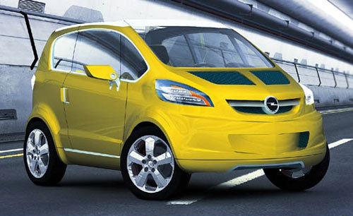 Opel Trixx, la citadine du futur