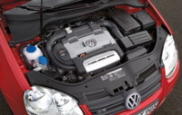 Volkswagen a remporté le prix TSI Engine of the Year Awards 2007 de la catégorie 1,0 à 1,4 l