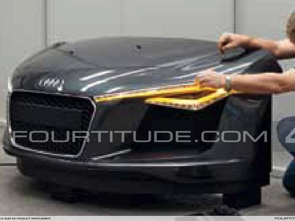 Audi R8 facelift  ou future e-Tron?