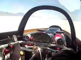 [vidéo] Embarquez pour une pointe à 685 km/h
