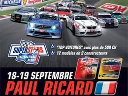 Ce week-end au Paul Ricard HTTT : Superstars Series, le DTM à l'Italienne avec des Porsche Panamera, BMW M3, Mercedes AMG, Audi...