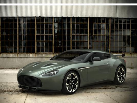 Salon de Francfort 2011 - L'Aston Martin V12 Zagato de route