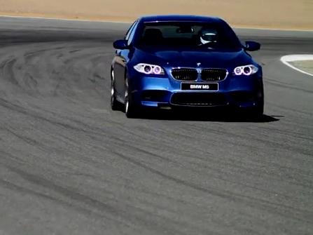 [vidéo] La BMW M5 F10 rugit sur Laguna Seca