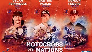 Motocross des nations : l'équipe de france