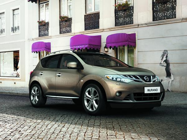 Petites retouches pour le Nissan Murano 2012