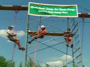 Nord de l'Alberta : des militants écolos apprennent à bien protester dans un camp d'entraînement !