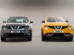 Nissan fête les cinq ans du Juke avec un origami géant