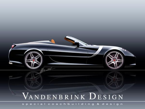 Le voeu de Vandenbrink Design: décapiter la Ferrari 599 GTB Fiorano