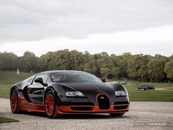 Photos du jour : Bugatti Veyron Supersport WRE (Concours d'Elegance de Chantilly)