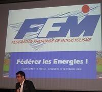 Caradisiac Moto à la Conférence de Presse de la FFM: Jacques Bolle, force de proximité