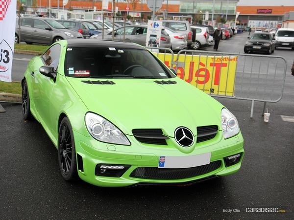 Photos du jour : Mercedes SLK 55 AMG (Cars & Coffee Paris)