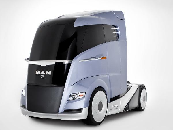 (Design) Joli coup de crayon pour le MAN Concept S Truck Study