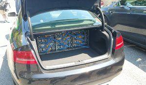 Une Audi RS5 transformée avec des organes de Tesla