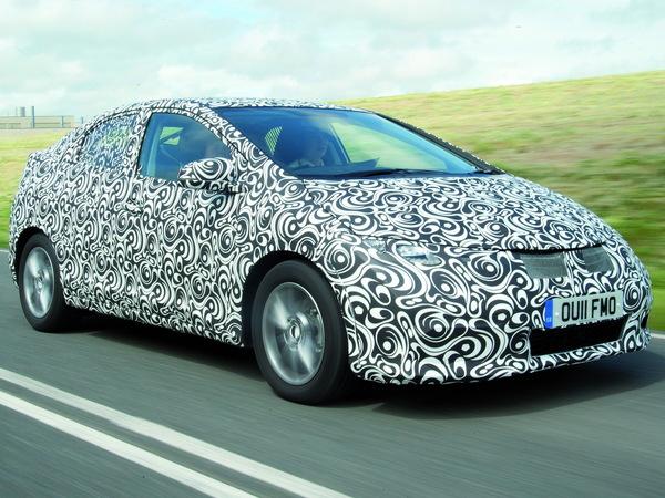 Salon de Francfort 2011 - La nouvelle Honda Civic d'un peu plus près
