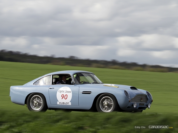 Photos du jour : Aston Martin DB4 GT (Tour Auto)