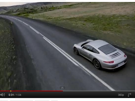 [vidéo] La nouvelle Porsche 911 (991) définitivement plus distinguée