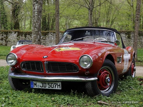Photos du jour : BMW 507 (Tour Auto)