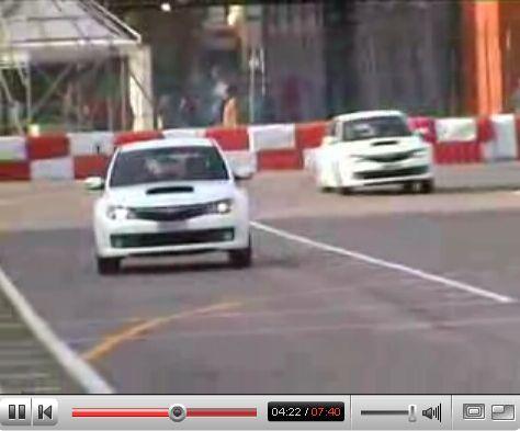 Vidéos : Subaru Impreza STi toujours en action !!