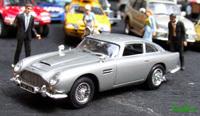 Miniature : 1/43ème - l'Aston-Martin DB5 de James Bond