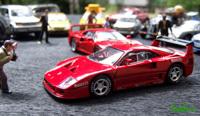 Miniature : 1/43ème - Ferrari F40  Racing